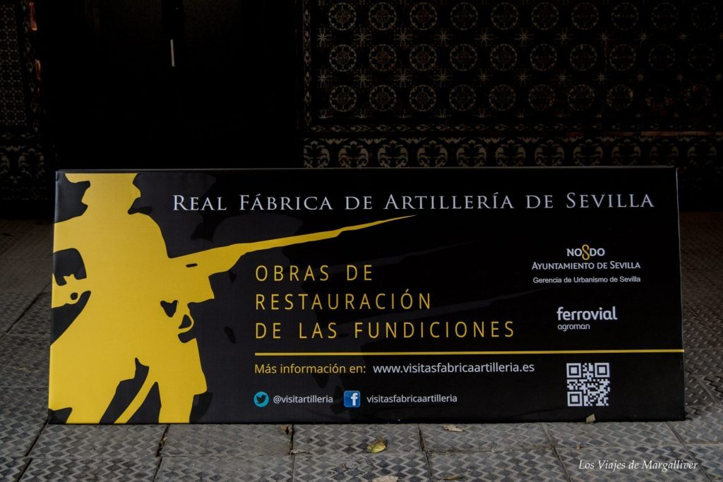 Rea Fabrica de Artilleria de Sevilla - Los viajes de Margalliver